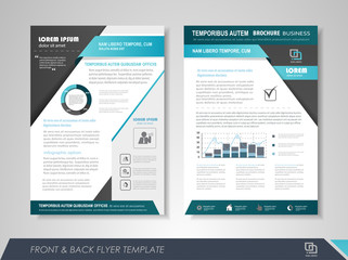 Business poster template
