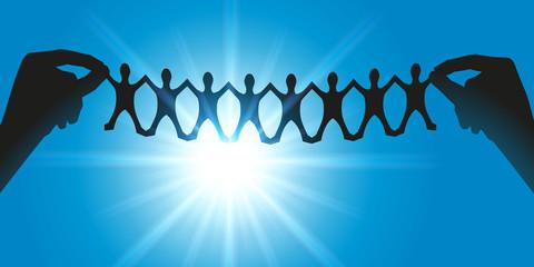 Solidarité - Chaine - Personnages