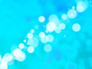 Glowing Blue Wallpaper