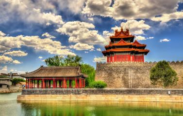 Watch Tower of the Forbidden City in Beijing