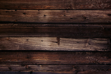 Poster Bois Vintage luxury wooden background. Old brown boards. Texture. Wooden background.