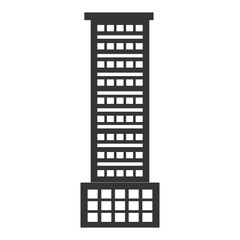 black tall building,vector graphic