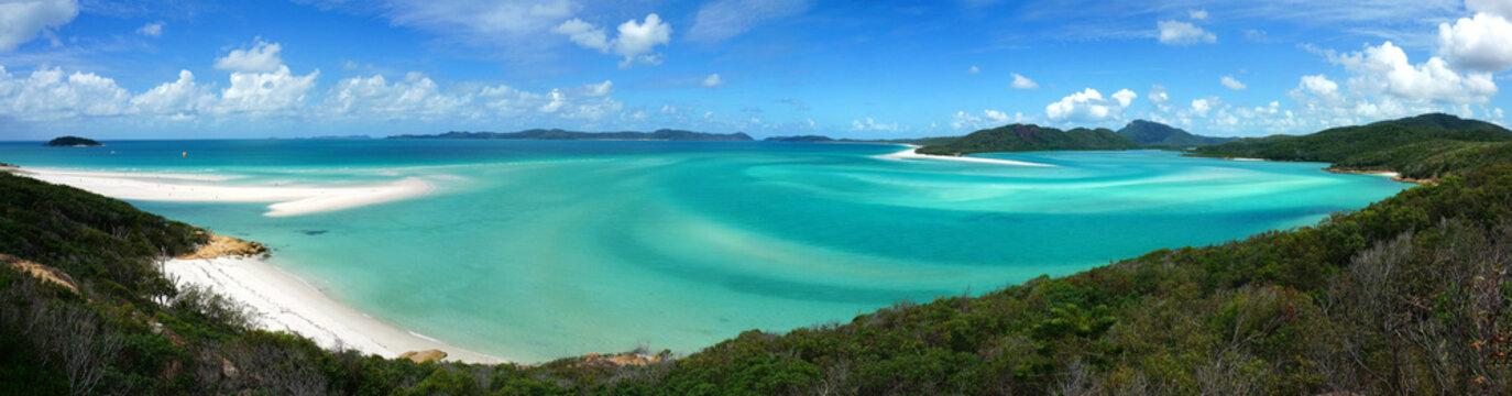 Whitehaven beach in Australia Whitsundays