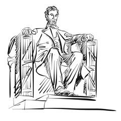 Abraham Lincoln Skizze