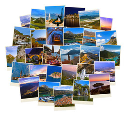 Stack of Montenegro travel images (my photos)
