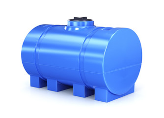 Big polyethylene container