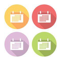 Cove design calendar 2017 template vector for corporate business. size ...