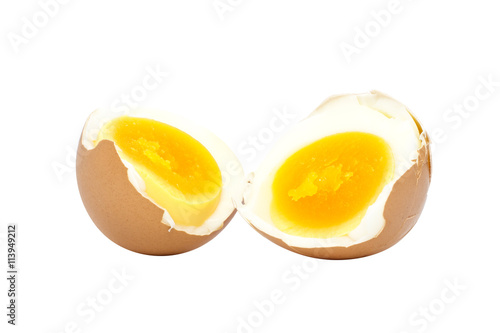 how to cut a soft boiled egg in half