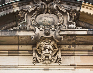 Berlin Cathedral:  architectural detail
