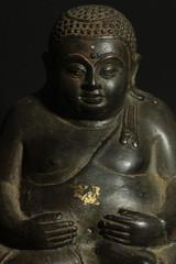 Sitting  Buddha from north of Thailand