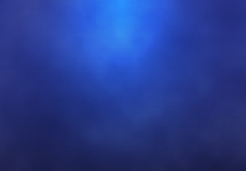 Blue abstract lighting background - Vector