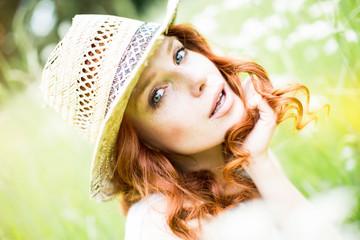 junge hübsche Frau