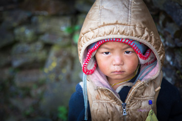 Fototapeta Nepal child obraz