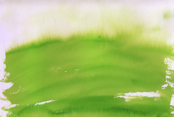 fresh green watercolor background