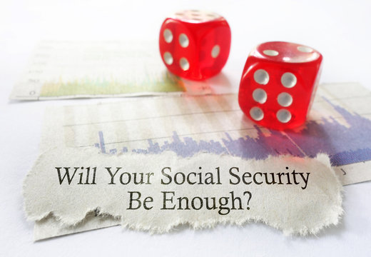 Social Security dice