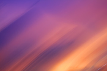 Movement Sky background on sunset. Nature composition.