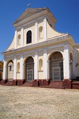 Iglesia Parroquial de la Santísima Trinidad, Plaza Mayor, Trinidad Kuba