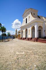 Iglesia Parroquial de la Santísima Trinidad, Plaza Mayor, Trinidad (Kuba)