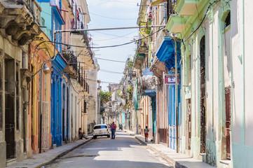 Street life in la Habana Vieja, Cuba