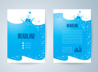 Search photos by photovs for Water brochure template