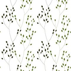 Green Romantic Weeds