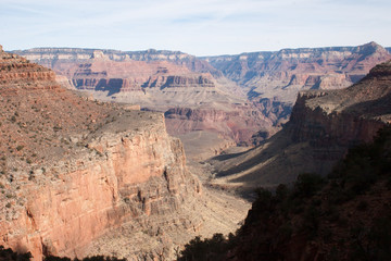 Landscape of the Grand Canyon in southwest usa