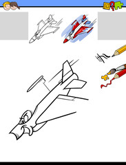 draw and color activity task