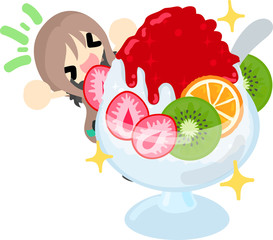 Summer memories and delicious shaved ice
