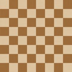 チェック柄10(シームレス)-ブラウン / ベージュ系のツートンカラーのチェック柄に、木目を意識した細かい模様を加え、ナチュラル感を演出しています。