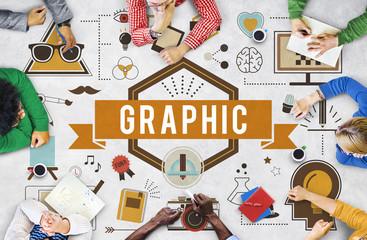 Graphic Creative Design Digital Illustrative Visual Concept