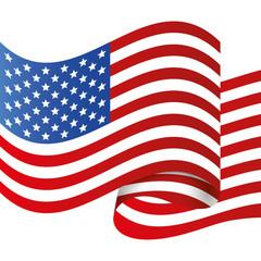 USA design. illuistration