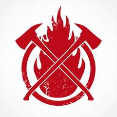 fireman axe symbol