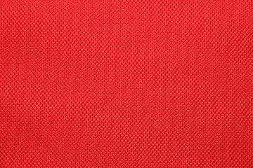 red sport cloth texture background Wall mural