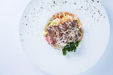 Salad. Restaurant food concept.