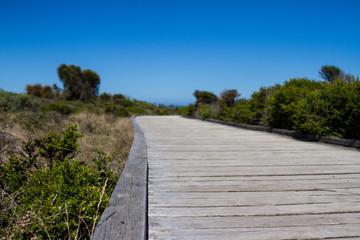 Wood Path to the twelve Apostles, australia