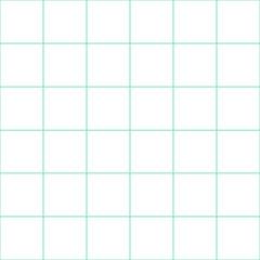 Mint Green Grid White Background Vector Illustration