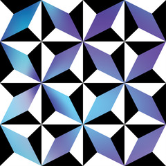 Repeating geometric patterns. Abstract decorative texture. Vector seamless background.