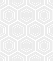 Honeycomb pattern vector, seamless hexagons pattern vector