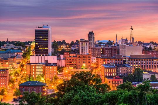 Lynchburg, Virginia, USA Skyline