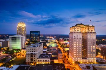 Winston-Salem, North Carolina Skyline