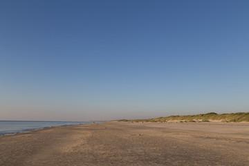 Sand beach in Jutland, Denmark