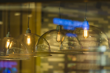 luxury retro light lamp decor