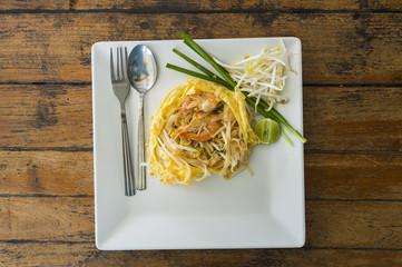 Pad Thai, A thai cuisine food