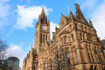 Manchester City Hall, UK