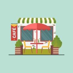 cafe on street
