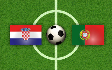 Soccer Football Croatia vs Portugal
