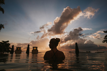Bali Sunrise silhouette