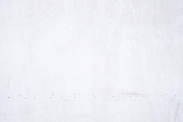 Grunge White plain wood texture background
