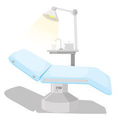 Dental chair and other equipments
