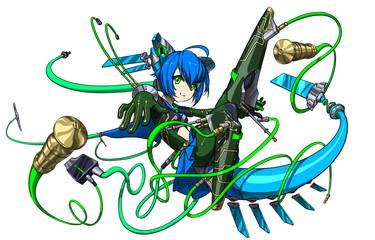 ソーシャルゲーム風デジタルモチーフ(完成)